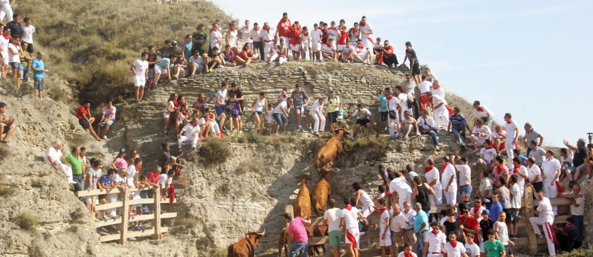 Trepidante Encierro del Estrecho 04.08.14