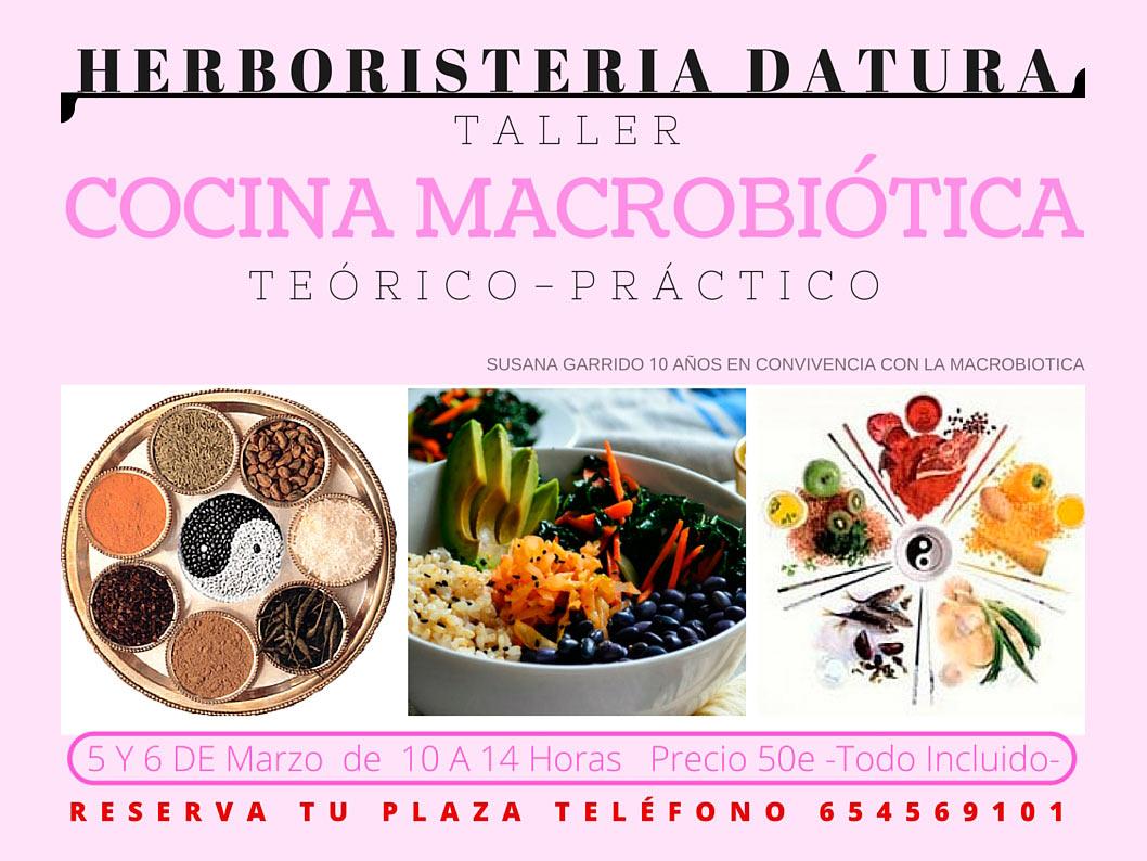 Cocina macrobi tica en datura arguedas puerta de las for Cocina macrobiotica