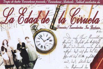 Dirección: Jon Barbarin Día 30 de Octubre Hora: 19:00 Casino de Arguedas Entrada Gratuita