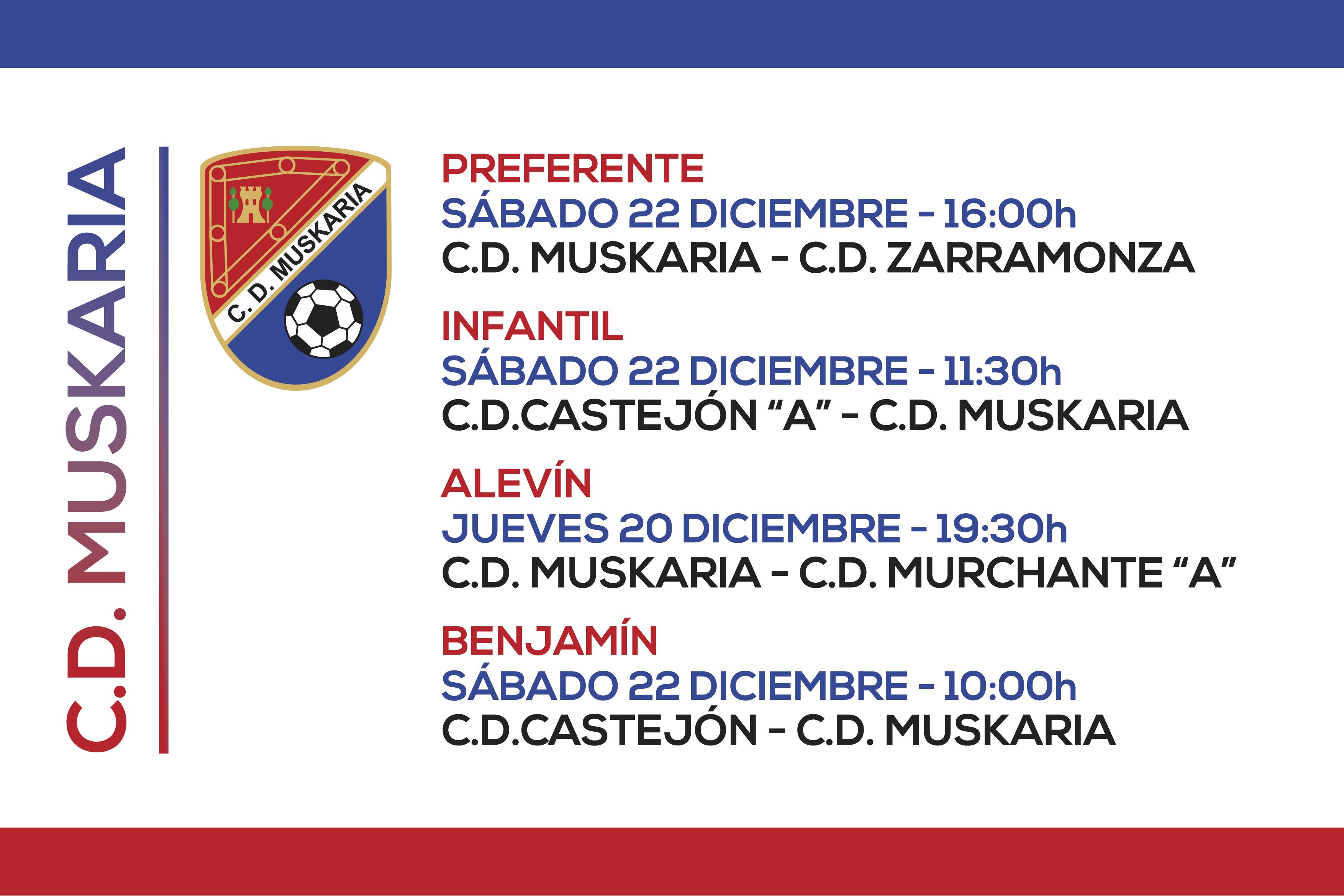 Muskaria 20 y 22 Diciembre 2018
