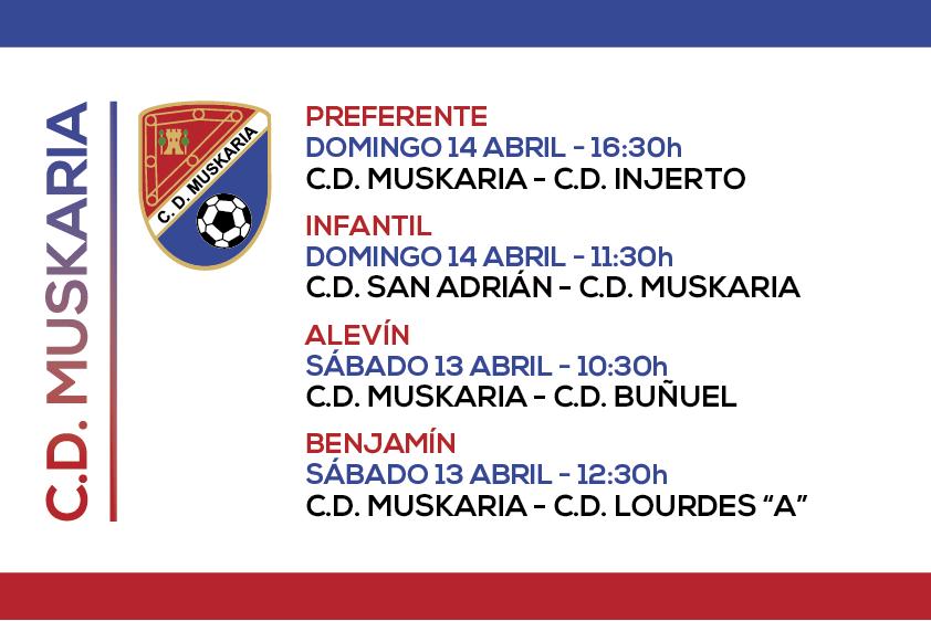 Muskaria 13 y 14 Abril 2019