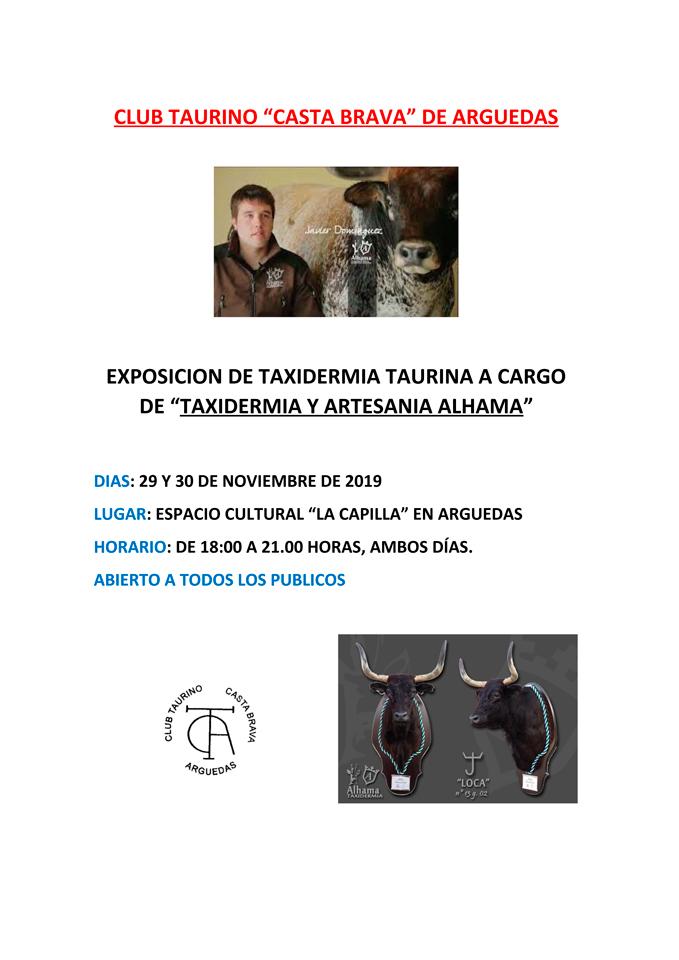 CARTEL-EXPOSICION-TAXIDERMIA-TAURINA-NOV-19