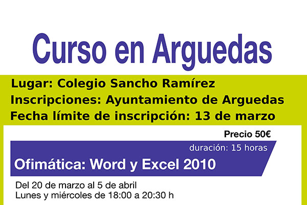 destacadaCursoWord-ExcelArguedas2017