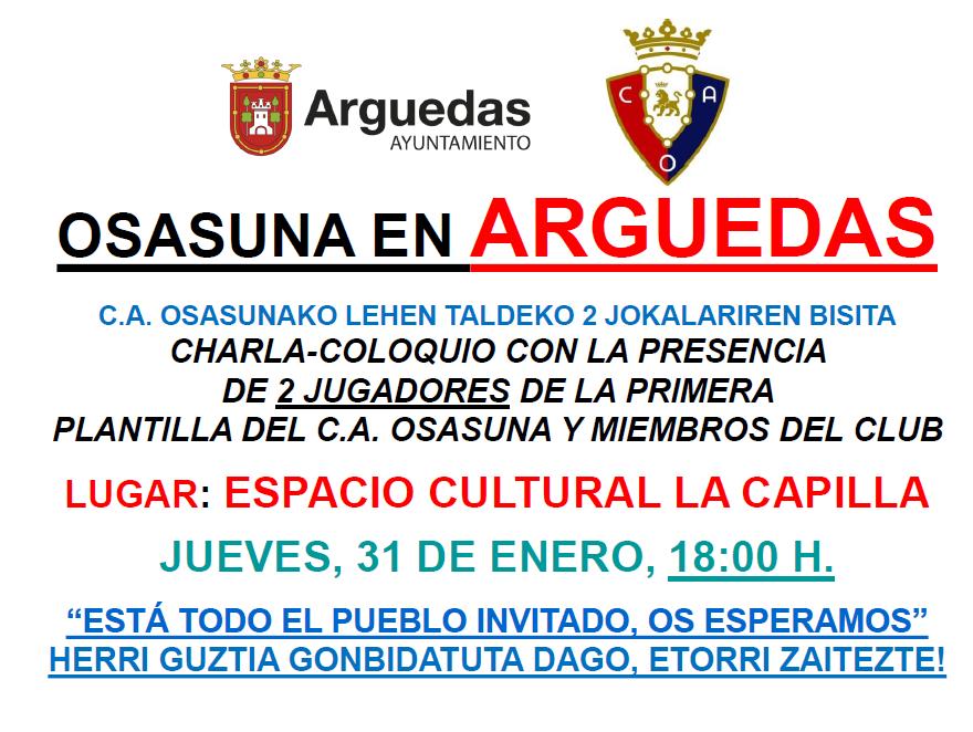 Osasuna en Arguedas 2019
