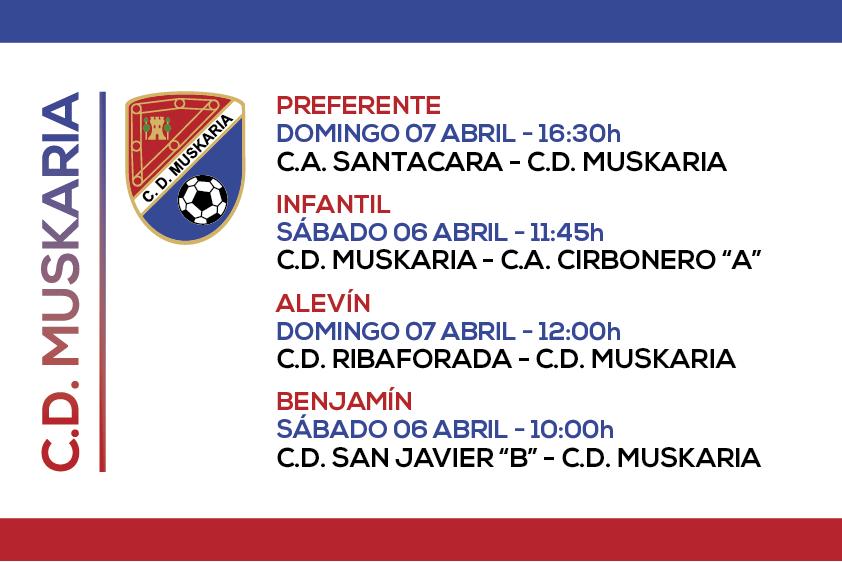 Muskaria 6 y 7 Abril 2019