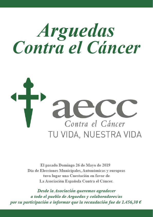 Cuestación Contra el Cancer 2019-2