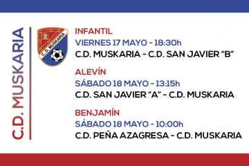 Muskaria 17 y 18 Mayo 2019