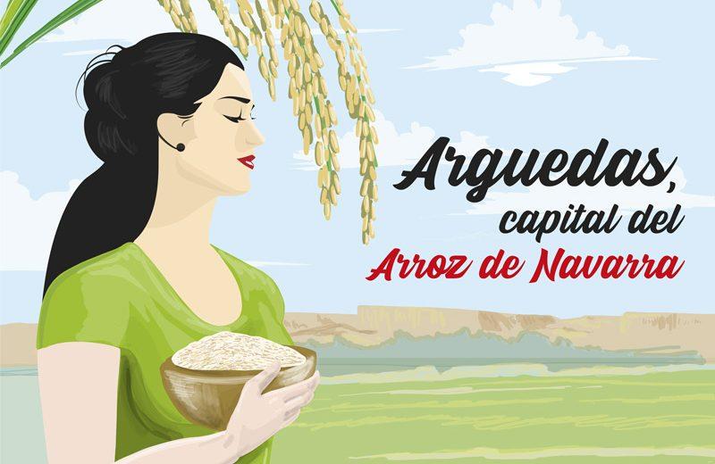 Arguedas Capital del Arroz de Navarra