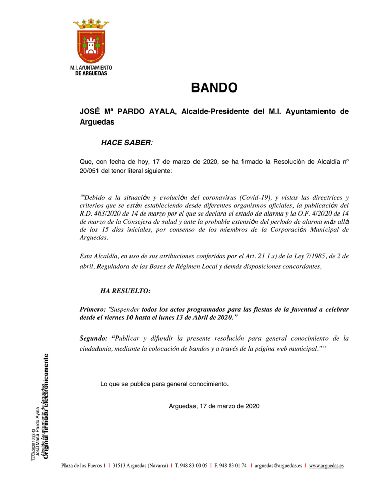 BANDO-Suspension-JUVENTUD-2020