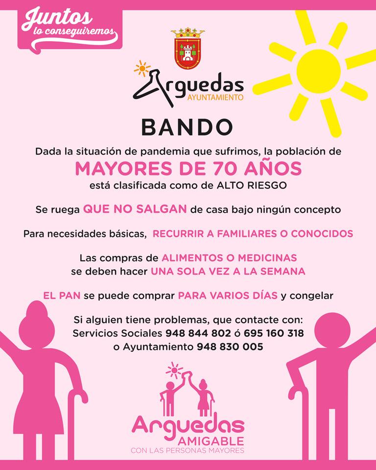 Mayores 70 Arguedas