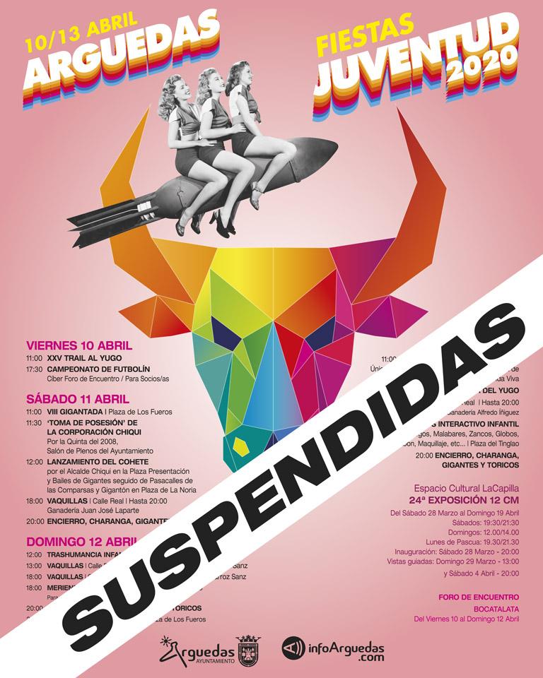 Juventud Arguedas SUSPENDIDAS 2020
