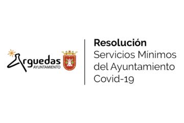Resolucion Servicios Minimos Arguedas 2020