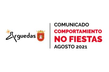 Comunicado No Fiestas 2021